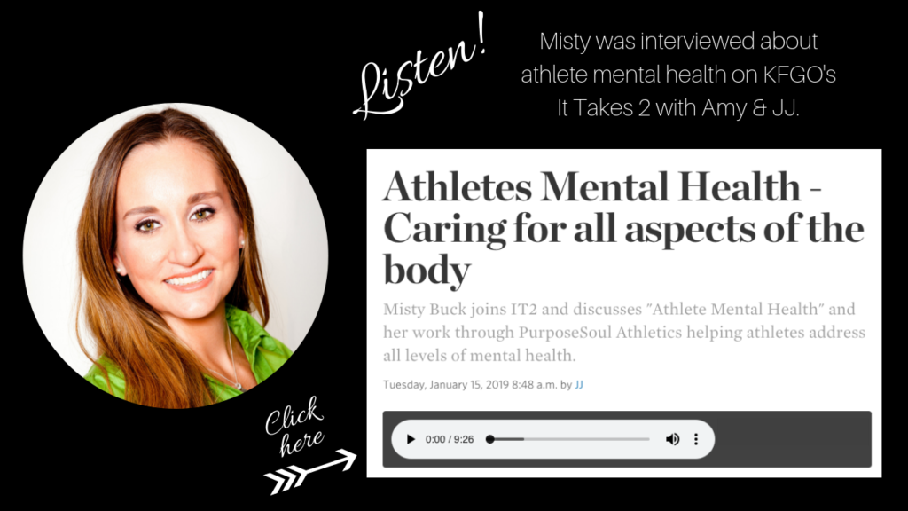 Athlete Mental Health It Takes Two with JJ and Amy